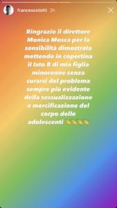 Totti stories 23.08