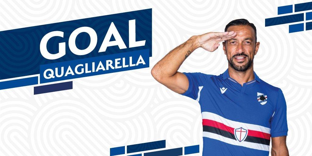 Fonte immagine: profilo twitter ufficiale Sampdoria