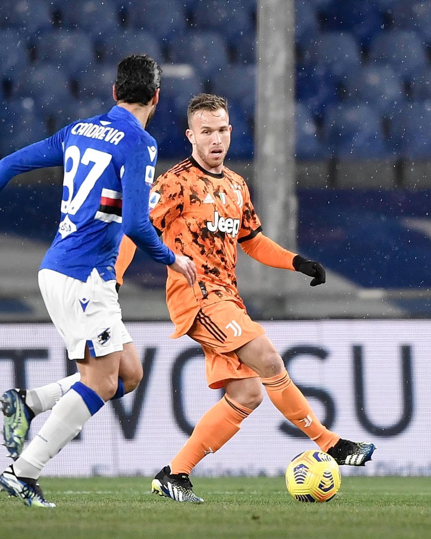 Arthur VS Sampdoria