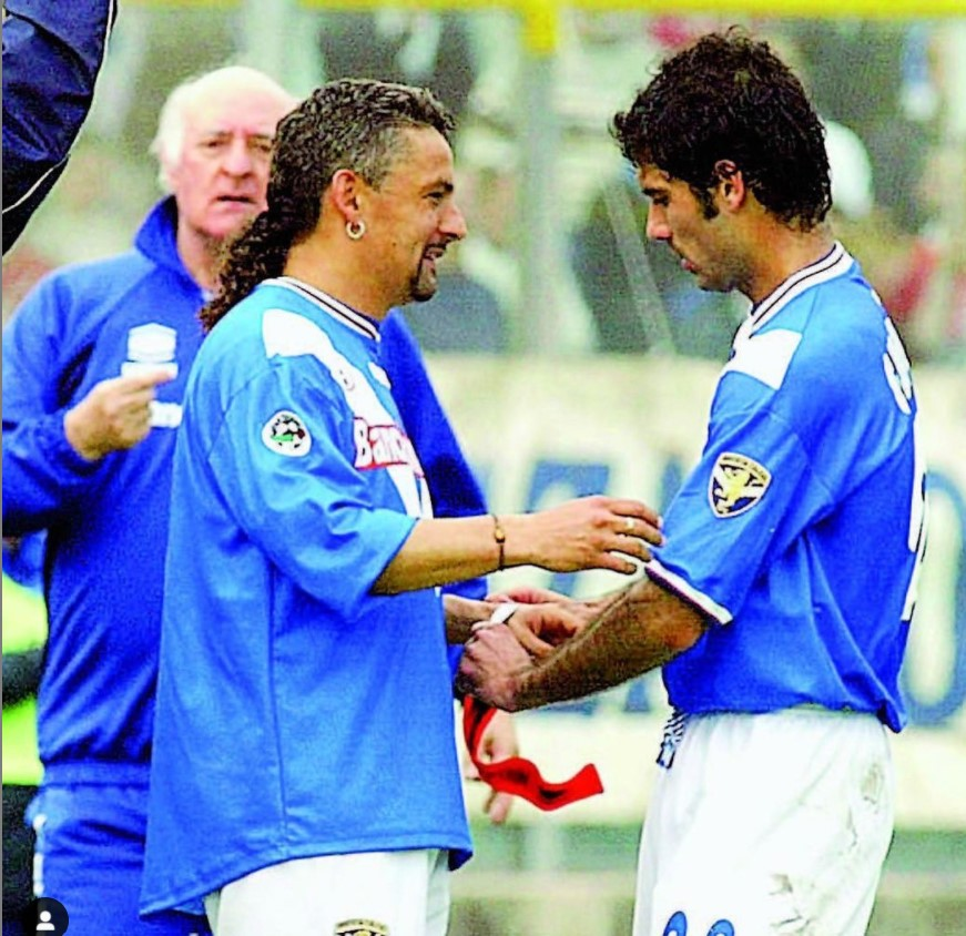 Baggio e Guardiola