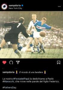 Sampdoria festa papà