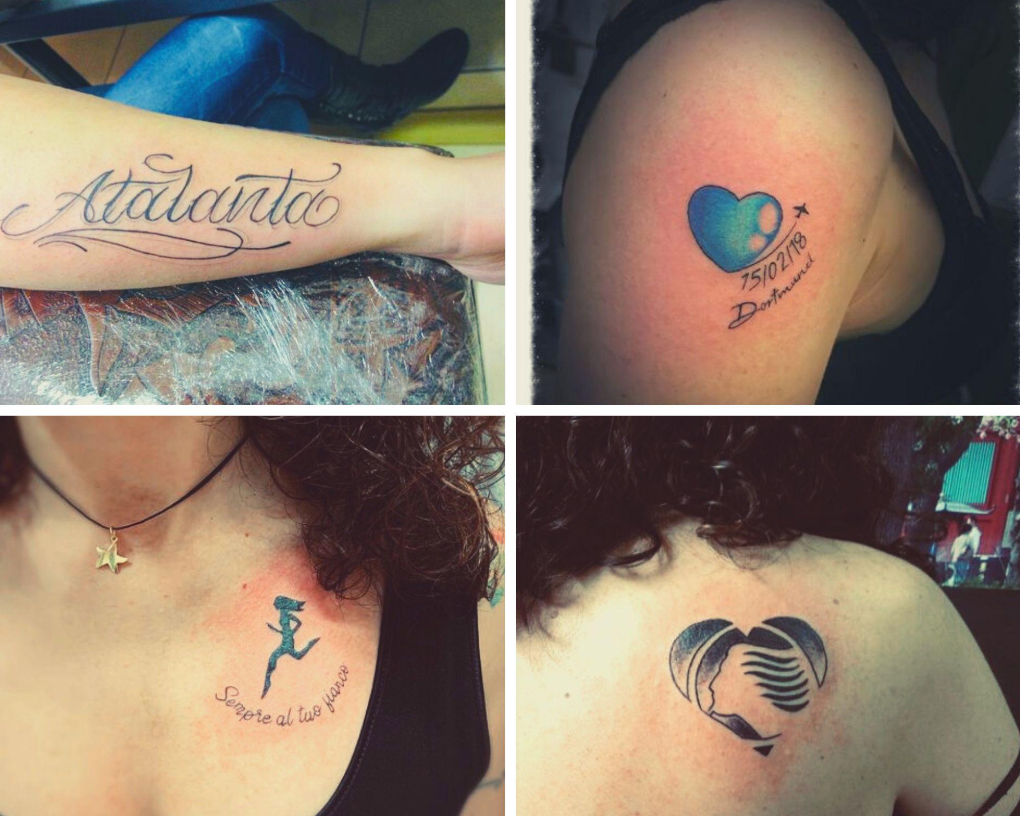 atalanta tatuaggio
