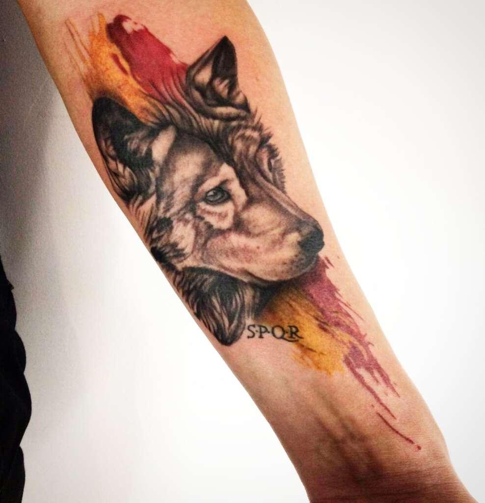 tatuaggio roma tifoso polacco