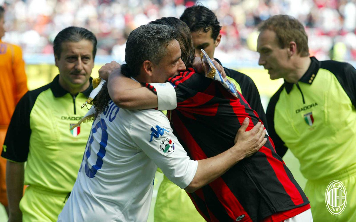 Baggio e Maldini
