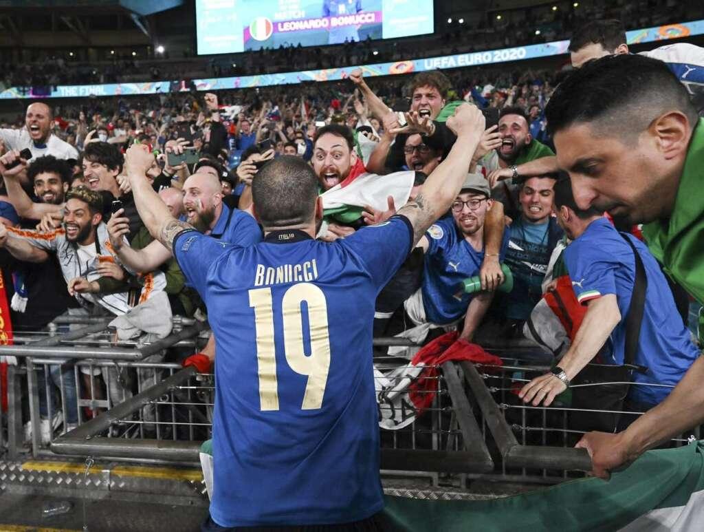 Bonucci a Wembley